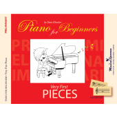 Piano for Beginners. Very First Pieces. Preliminary Level